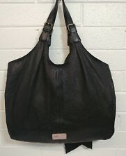 ab62b2df87b RED VALENTINO GARAVANI BLACK LEATHER BOW TOTE SHOULDER BAG X LARGE PURSE