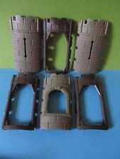 PLaymobil*großes Mauer Set zum Rundturm Turm *Ritterburg 3666* 3665 3888