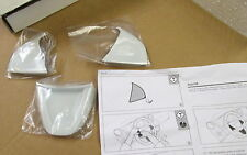 Nuevo Genuino Seat Ibiza volante blanco guarnecido Set Decorativo 6J0064245B