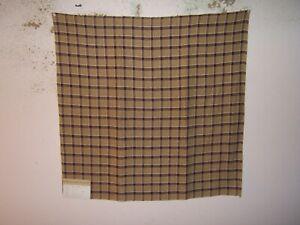 Highland Court, Brooks Plaid,  Geometric,  Fabric Remnant, Various Colors