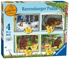 NEW! Ravensburger The Gruffalo Storybook Time 4 in a box jigsaw puzzle Age 3+