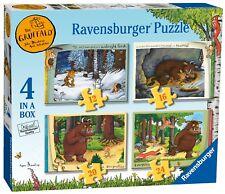 NOUVEAU! Ravensburger Le Gruffalo Storybook 4 in (environ 10.16 cm) temps une Boîte De Puzzle 3+ Ans