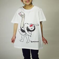 "Sasuraikimono Series ""Dachourina""/Ballerina With Ostrich/T-Shirt/5.6 oz/Girls-S"