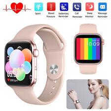 Women Smart Watch Fitness Tracker Heart Rate Monitor Remote Camera Wristband