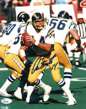 """(SSG) DAN FOUTS Signed 8X10 """"SD Chargers"""" NFL Photo - JSA (James Spence) COA"""