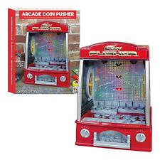 MINI ARCADE coin Pusher-forains Toy Lights & Sounds-Global Gizmos 50131