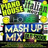 🌟 Euro Italian Piano House Breaks Old Skool 1990s MASH UP MIX NEW 2019 CD DJ 🌟