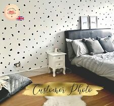 320x Dalmatian Print Spots wall Sticker polka dot Living Room Irregular Dot