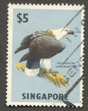AOP Singapore 1962-66 $5 Bird used. SG 77 £9