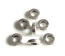 20 Intercalaires spacer Cylindre arg 6x6x2mm Perles apprêts création bijoux A272