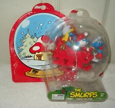 #3983 Jakks Pacific Target Stores Smurfs Holiday Giftpack