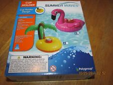 New listing Summer Waves Inflatable Cup Holder - New