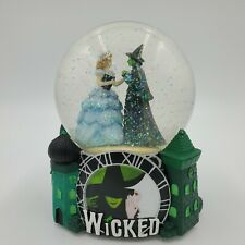 """WICKED Broadway Musical Snow Globe """"For Good"""""""