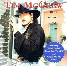 Not a Moment Too Soon by Tim McGraw (CD, Mar-1994, Curb)