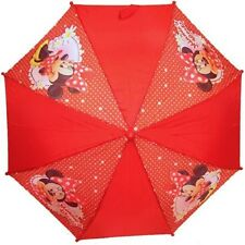 Minnie Mouse Girls Children's Red Umbrella with Minnie Mouse Design
