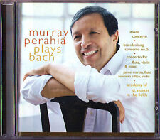 Murray Perahia: Bach Brandenburg Triple Italian Concerto CD pianoforte FLUTE Violin