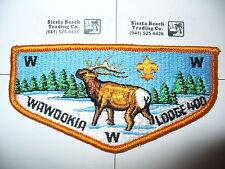 OA Wawookia Lodge 400 S-2, 1970s Elk Flap,Lewis Clark,311,415,Lewiston,Idaho, ID