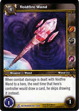 WOW WARCRAFT TCG ARCHIVES : VOIDFIRE WAND FOIL X 4