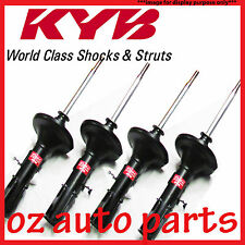 FRONT & REAR KYB SHOCK ABSORBERS FOR SUBARU FORESTER SG 2.5L WAGON 7/2002-6/2005