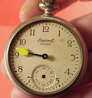 Ingersoll MIckey Mouse 1934 Pocket Watch Replacement MINUTE HAND 4 Repairs