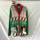 Spencers Mens Ugly Christmas Sweater Size XL GUC