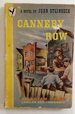 Cannery Row by John Steinbek (1947) Bantam 75