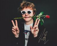 Lewis Capaldi HAND SIGNED 8x10 Photo Autograph Divinely Uninspired To A Hellish