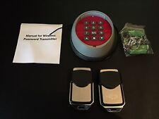 Neco Control Wireless keypad & 2 remotes - Ver 1 (compatible with Euro Receiver)