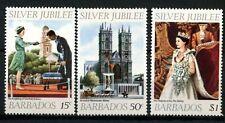 Barbados  1977 SG#574-6 QEII Silver Jubilee MNH Set #D76456