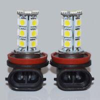 2x White 6000K H11 18-SMD 5050 LED Headlight Bulb Driving Fog Backup Lights  12V