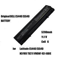 Laptop Battery 6 Cell for DELL E5440 E5540 Latitude N5YH9 TU211 VV0NF 451-BBIE