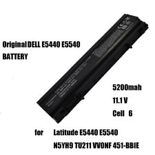 New listing Laptop Battery 6 Cell for Dell E5440 E5540 Latitude N5Yh9 Tu211 Vv0Nf 451-Bbie