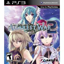 Record Of Agarest War 2 -Playstation 3 New PS3 Game