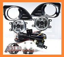 2010-2011 Toyota Camry Fog Lights Clear Lens Front Driving Lamps COMPLETE KIT