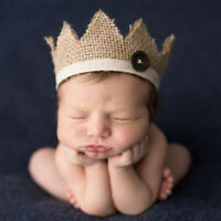 0-2 Years old newborn photography props baby crown hat WGA_SE