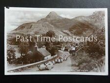 Glen Coe Village CHANGING PASTURES shows large sheep herd in Village 1930 RP