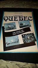 La Province De Quebec Rare Original 1977 Canadian Music Special Magazine
