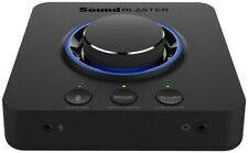 CREATIVE Sound Blaster X3 Hi-Res External USB DAC and Amp Sound Card with Super
