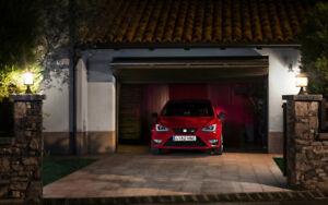"RED SEAT IBIZA CUPRA 2013 A2 CANVAS PRINT POSTER 23.4""x15.4"""