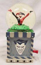 Dc Comic Harley Quinn Snowglobe Statue Robin Joker Batman Maquette Figurine Toy