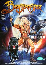 Beastmaster Der Befreier T1 Videoposter A1 Marc Singer, Tanya Roberts, Rip Torn