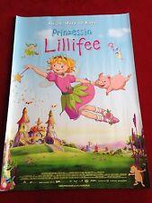 Prinzessin Lillifee Kinoplakat Poster A1, Zeichentrick, mit Glitter