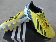 Da Uomo Adidas Football Boot Adizero F50 TRX HG Pelle UK 7.5 ditta terreni duri