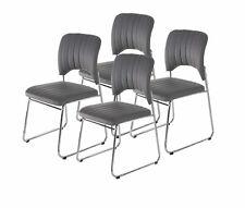 Stapelbare Stuhle Aus Kunstleder Furs Esszimmer Gunstig Kaufen Ebay