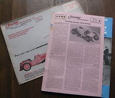 "1972 ""Exact Scale"" Sinclair's Auto Miniatures Catalog #15; Cars, Trucks, etc.,"