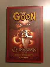 Autographed The Goon: Chinatown and the Mystery of Mr. Wicker Eric Powell Rare!!