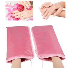Nail SPA Manicure Electric Heated Gloves Mitts Infrared Therapy Treatment Warmer