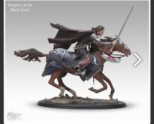 SIDESHOW WETA THE LORD OF THE RINGS ARAGORN AT THE BLACK GATE Statue
