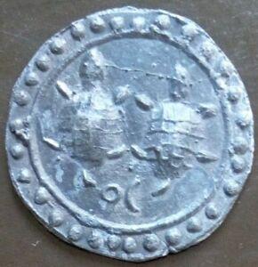 18th circa.--S. E. ASIA--ANCIENT COIN---DOUBLE TURTLE--dia. 40 mm.