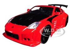 "2003 NISSAN 350Z RED ""JDM TUNERS"" 1/24 DIECAST MODEL CAR BY JADA 99110"